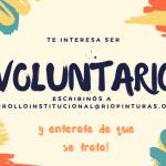 ¿Sabías que podes ser voluntario?